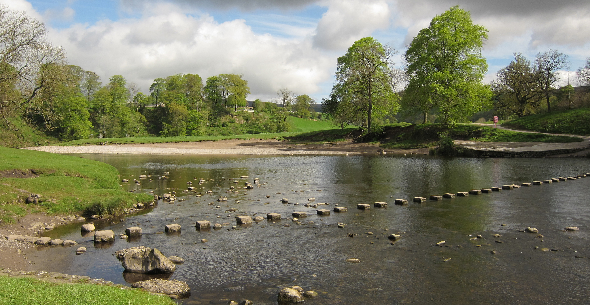 The Wharfe at Bolton Abbey
