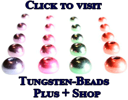 Metallic tungsten beads image